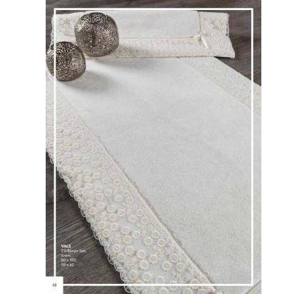 Набор ковриков Karven Vals кремовый (50x60+60x100)