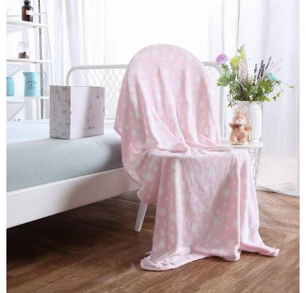 Детский плед Sofi de Marko Роджер (розовый) 100x150