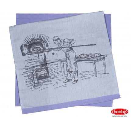 Набор салфеток Hobby Home Baker фиолетовый (50x70, 2 предмета)
