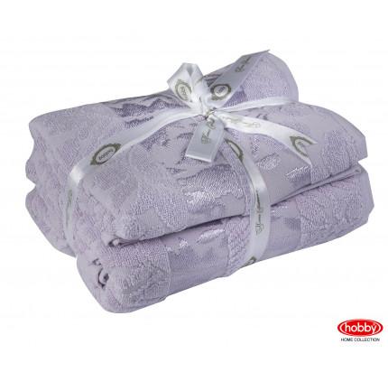 Набор полотенец Hobby Home Versal лиловый (50x90+70x140 - 2 предмета)