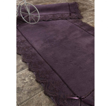 Набор ковриков Karven Berra фиолетовый (50x60+60x100)