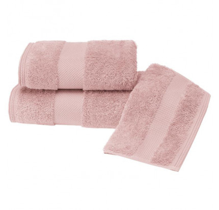 Набор салфеток Soft Cotton Deluxe темно-розовый (3 предмета)