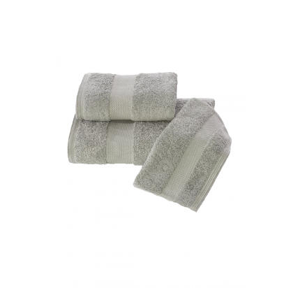 Набор полотенец Soft Cotton Deluxe (3 предмета, серый)