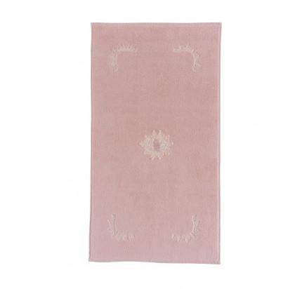 Полотенце-коврик для ног Soft Cotton Destan (розовый) 50x90