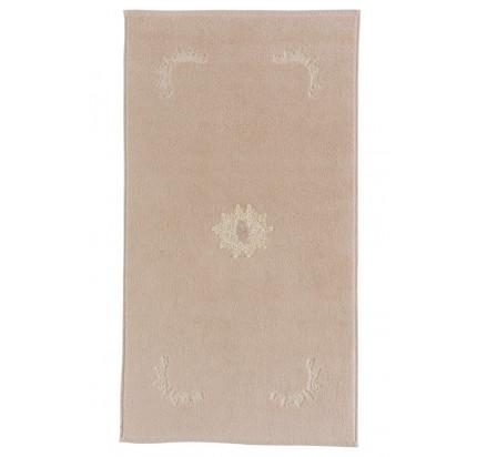 Полотенце-коврик для ног Soft Cotton Destan (крем-пудра) 50x90