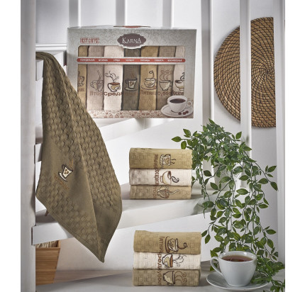 Набор салфеток Karna Devon (7 предметов) 45x65