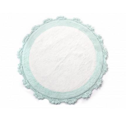 Коврик Irya Doreen mint-beyaz 90 см. (круглый)