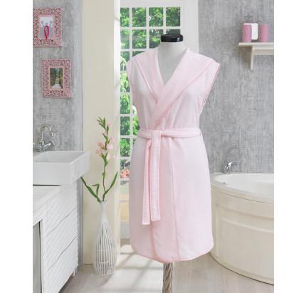 Халат женский Soft Cotton Duru (розовый)