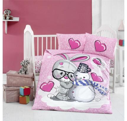 Детское белье в кроватку Arya Home Love