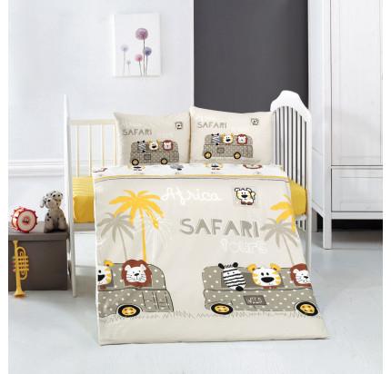 Детское белье в кроватку Arya Home Safari