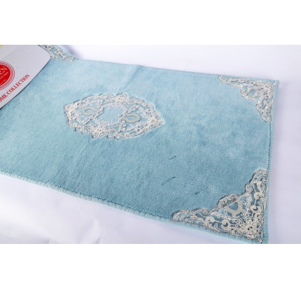 Набор ковриков Karven Caprice бирюзовый (50x60+60x100)