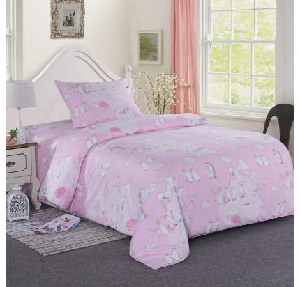 Sofi de Marko Пингвины (розовый) детское постельное белье