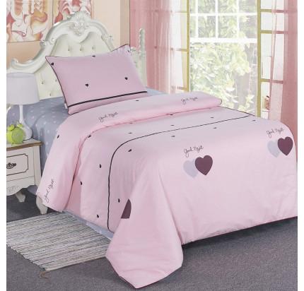 Sofi de Marko Сердечки (розовые) детское постельное белье
