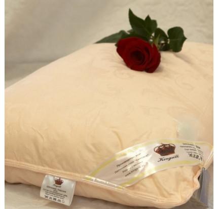 Подушка Kingsilk Elisabette Элит персиковая (шелк 100%)