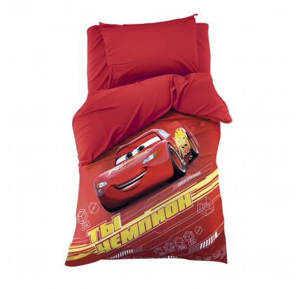 Детское постельное белье Этель Чемпион Тачки