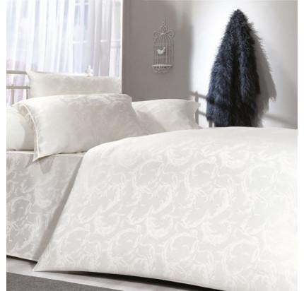 Постельное белье Zebra Casa Eyla krem евро