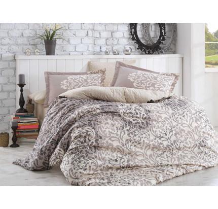 Постельное белье Hobby Home фланель Serenity (серый)