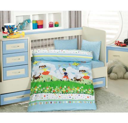 Детское белье в кроватку Altinbasak Tini Mini