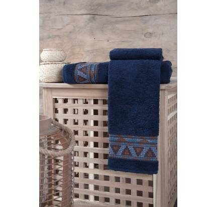 Полотенце Karna Giza (синее)