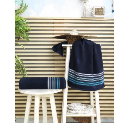 Полотенце Karna Paula (синее)
