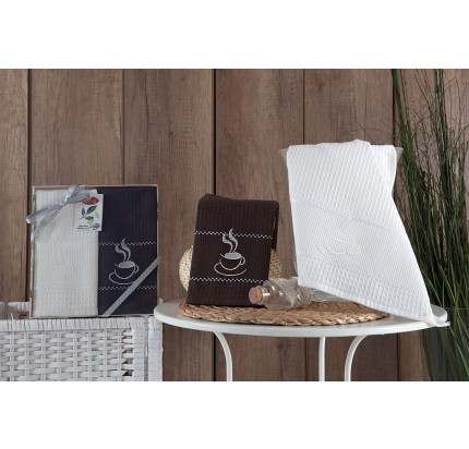 Набор салфеток Karna Tea Time V2 (2 предмета) 40x60