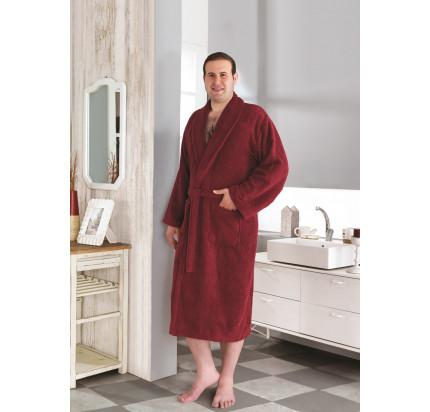 Karna Smart халат махровый (бордовый)