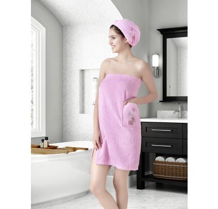 Набор для сауны женский Karna Arven (розовый)