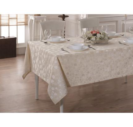 Скатерть Karna Cotton Linen V10 160x220