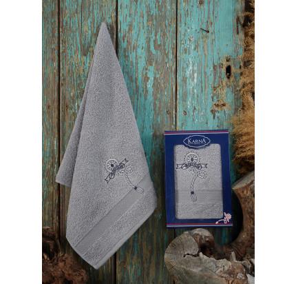 Полотенце Karna Rota (серый) 50x90