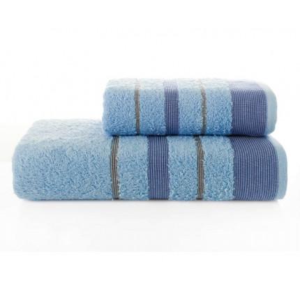 Набор полотенец Karna Regal Set (голубой, 2 предмета)