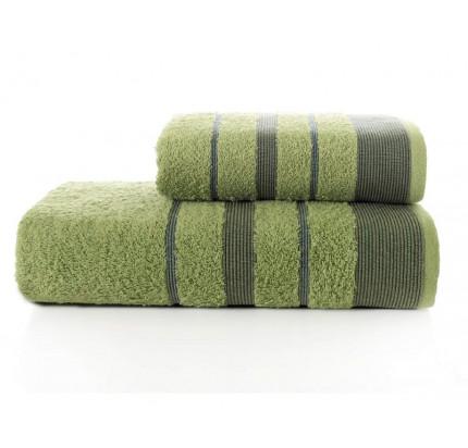 Набор полотенец Karna Regal Set (зеленый, 2 предмета)