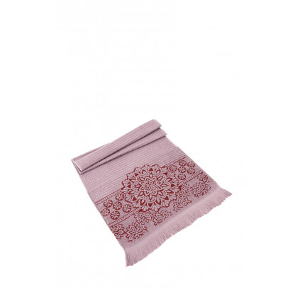Полотенце Karna Duru (грязно-розовое)
