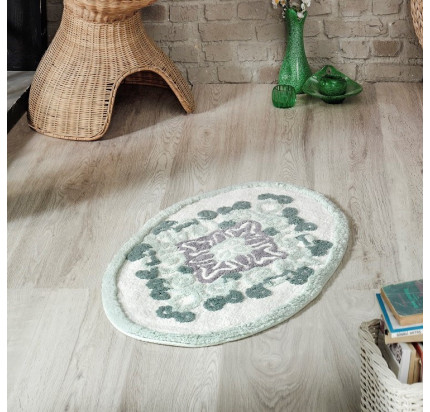 Коврик Modalin Vera (зеленый) 50x80