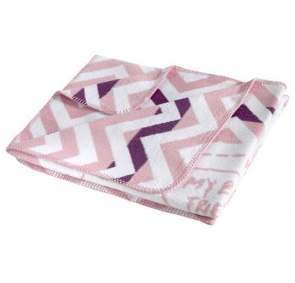 Детский плед Karna Friendly (грязно-розовый) 90x120
