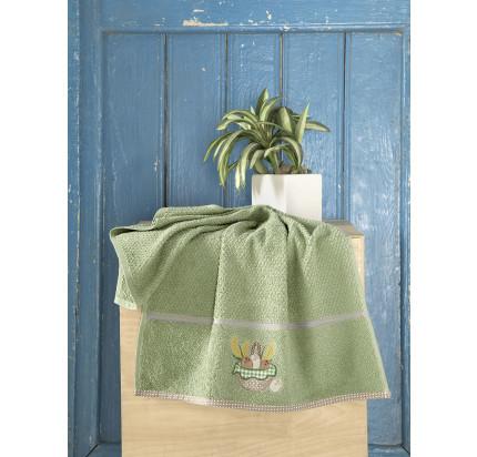 Салфетка Karna Breakfast (зеленый) 45x70