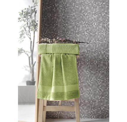 Полотенце Karna Meltem (зеленое)