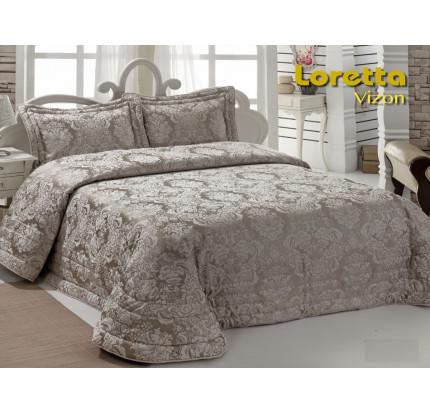 Покрывало Karna Loretta (визон) 250х270