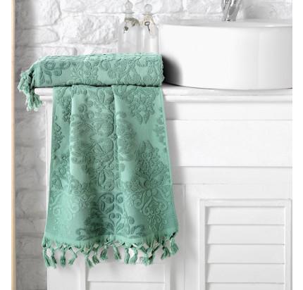 Полотенце Karna Ottoman (зеленое)