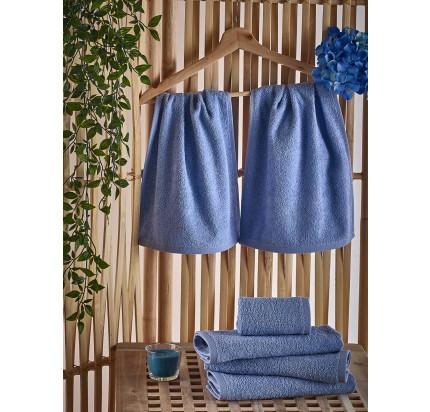 Полотенце-салфетка Karna Petek (голубое) 30x50