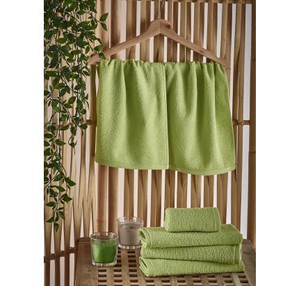 Полотенце-салфетка Karna Petek (зеленое) 30x50