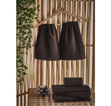 Полотенце-салфетка Karna Petek (коричневое) 30x50