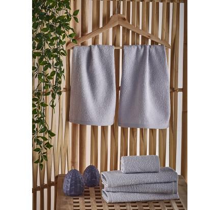 Полотенце-салфетка Karna Petek (серое) 30x50