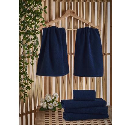 Полотенце-салфетка Karna Petek (синее) 30x50