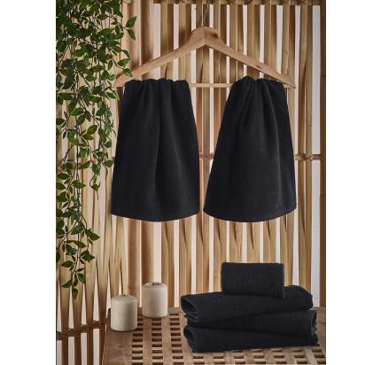 Полотенце-салфетка Karna Petek (черное) 30x50