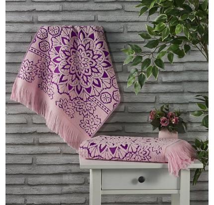Полотенце Karna Duru (розовое)
