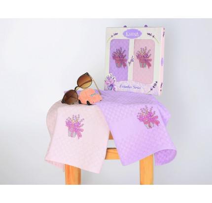 Салфетки Karna Lavender V1 (2 предмета, 45x65)