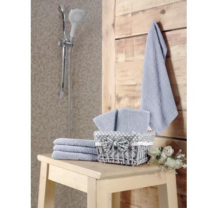 Набор салфеток Karna Pruva светло-серый (30x30, 6 предметов)