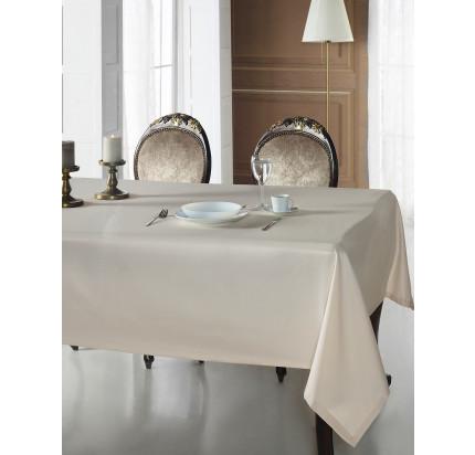 Скатерть Karna Cotton Linen V12 160x220