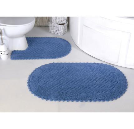 Набор ковриков для ног Modalin Prior (голубой) 50x70+60x100