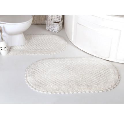 Набор ковриков для ног Modalin Prior (кремовый) 50x70+60x100
